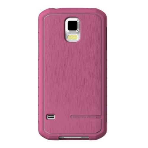 Body Glove Raspberry Satin Series Slim Protective Crystal Silicone Case for Samsung Galaxy S5 - 9409204