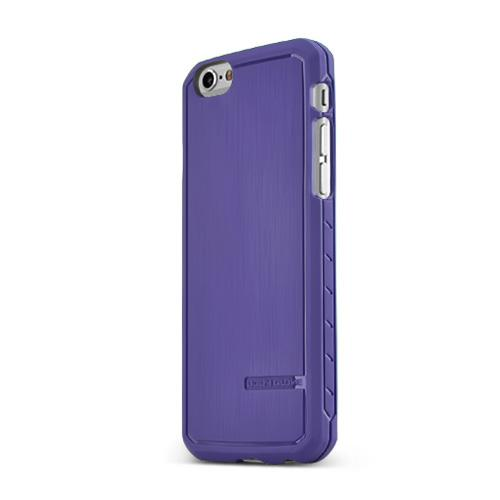 Apple iPhone 6/ 6S Case, Body Glove [Purple] Satin Series Slim & Flexible Anti-shock Crystal Silicone Protective TPU Gel Skin Case Cover