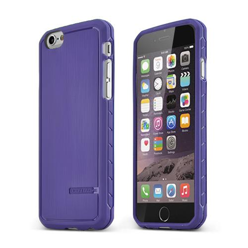 Purple Body Glove  Satin Series Slim Protective TPU Crystal Silicone Case Made for Apple iPhone 6 (4.7 inch) - 9446002