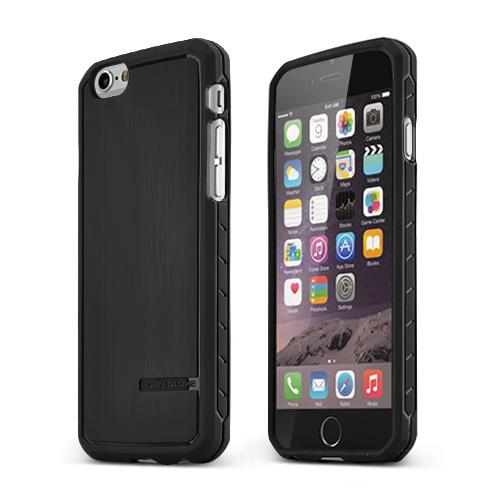 Black Body Glove Apple iPhone 6 (4.7 inches) Satin Series Slim Protective TPU Crystal Silicone Case - 9446102