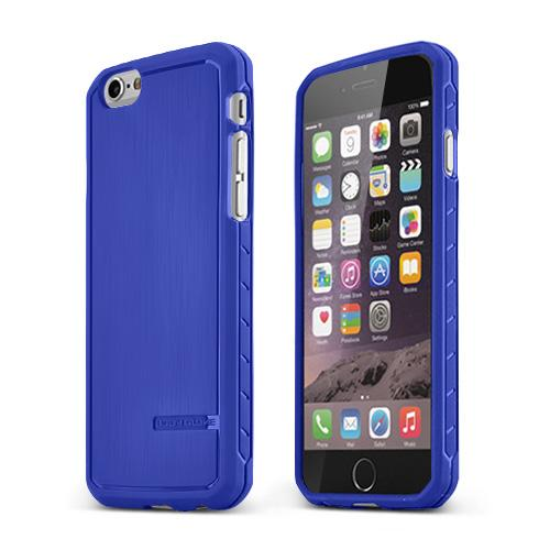 Blue Body Glove Apple iPhone 6 (4.7 inches) Satin Series Slim Protective TPU Crystal Silicone Case - 9448801