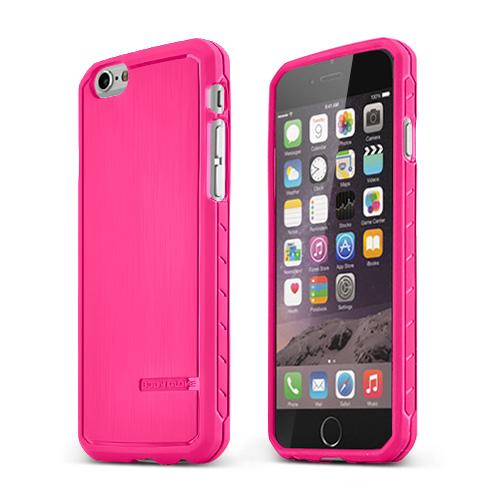 Hot Pink Body Glove Apple iPhone 6 (4.7 inches) Satin Series Slim Protective TPU Crystal Silicone Case - 9448901