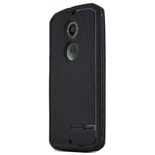 Moto X 2014 [body Glove] Tpu Case [black] Protective Antibacterial Case W/ Flexible Crystal Silicone Tpu Impact Resistant Material