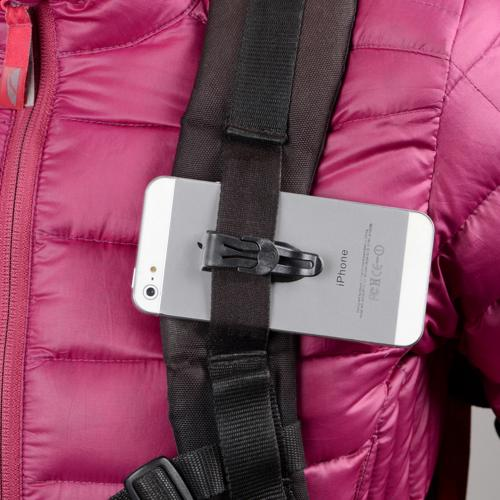Nite Ize Total eCLIPse Mountable Self-Locking Pocket Clip - [Secure, sleek, low-profile, and can be attached to all phone models]