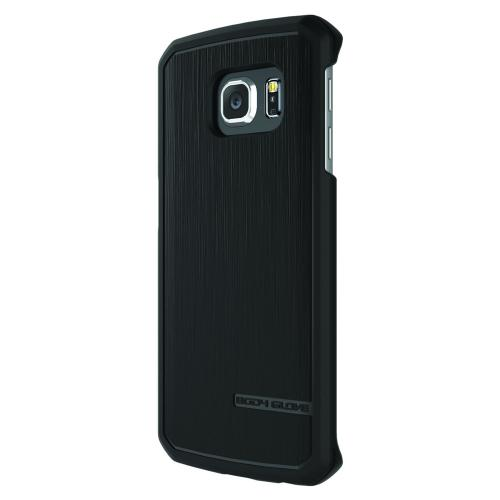 Samsung Galaxy S6 Edge Case, Body Glove [Black]  Featuring Flexible, Impact Resistant, Antibacterial Crystal Silicone TPU