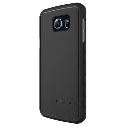 Samsung Galaxy Note 5,Body Glove [Black]  Slim & Protective Satin Durable Brushed Aluminum Crystal Silicone TPU Case