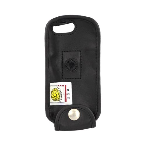 Original Turtleback Premium Motorola i1 Leather Case w/ Swivel Clip, A-MOTI1E - Black