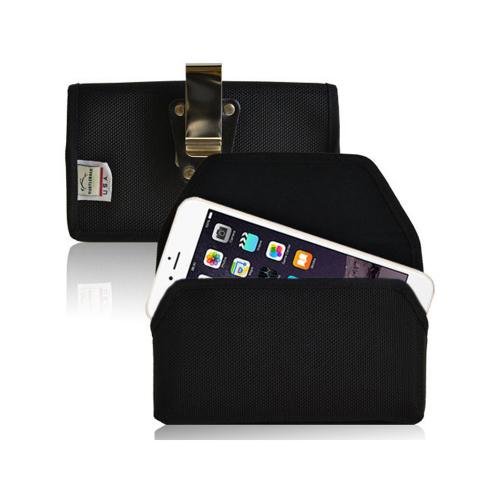 "Black Turtleback Apple iPhone 6 (4.7"") Extra Large Holster Ballistic Nylon Heavy Duty Case with Magnetic Closure"
