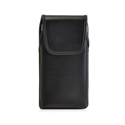 Black Turtleback 3XL Vertical Genuine Leather Holster with Heavy Duty Rotating Clip and Magnetic Closure Made for Apple iPhone 6 Plus (5.5 inch)