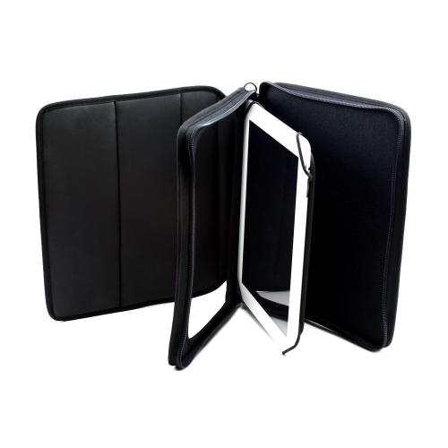 "Black Turtleback Ballistic Nylon Case w/ Shoulder Strap for Tablets up to 10.4"" (Samsung Galaxy Note 10.1, Apple iPad Air, Samsung Galaxy Tab 3 10.1 and more!)"