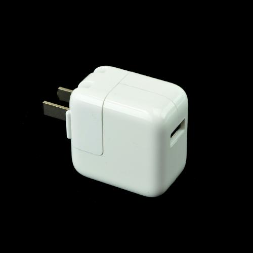 OEM Apple 10W USB Wall Charger Power Adapter, A1357 (2100 mAh) - White (Works w/ iPad Air!)