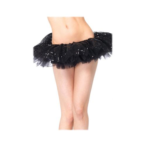 LegAvenue Costume Sequin Tulle Tutu - Black