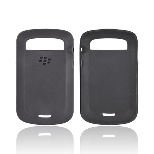 Original Blackberry Bold 9900, 9930 Crystal Silicone Case, ACC-38873-301 - Black