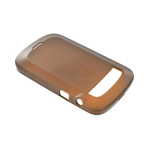 Original Blackberry Bold 9900, 9930 Crystal Silicone Case, ACC-38873-304 - Brown
