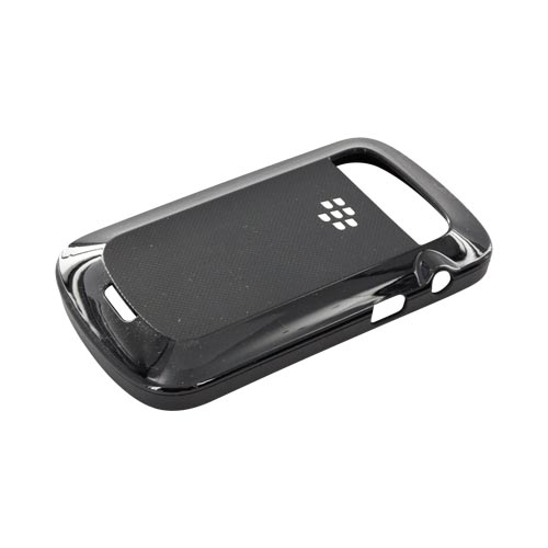 Original Blackberry Bold 9900,9930 Rubberized Hard w/ Textured Back Hard Shell, ACC-38874-301 - Black