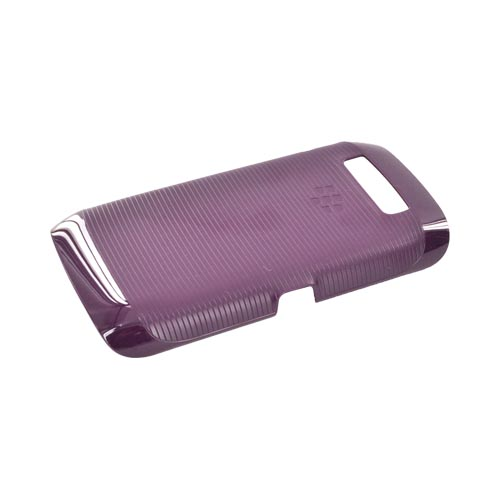 Original Blackberry Torch 9860, 9850 Hard Shell Hard Case, ACC-38965-302 - Purple