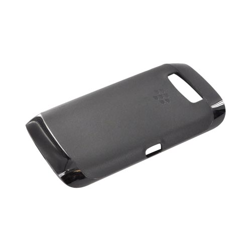 Original Blackberry Torch 9860, 9850 Crystal Silicone Case, ACC-38966-301 - Black