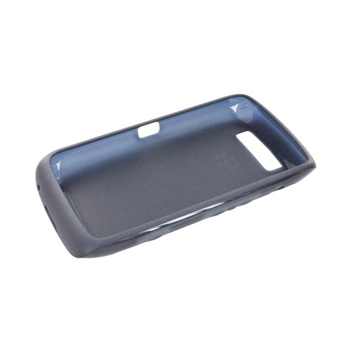 Original Blackberry Torch 9860, 9850 Crystal Silicone Case, ACC-38966-303 - Dark Blue