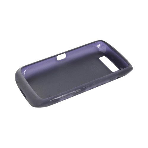 Original Blackberry Torch 9860, 9850 Crystal Silicone Case, ACC-38966-304 - Indigo Purple
