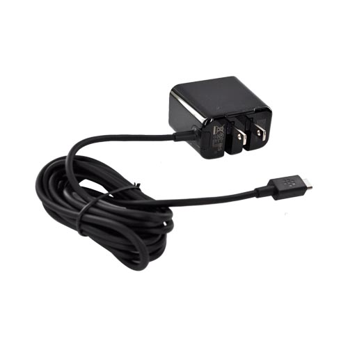 Original Blackberry Playbook Travel Charger, ACC-39343-301 - Black