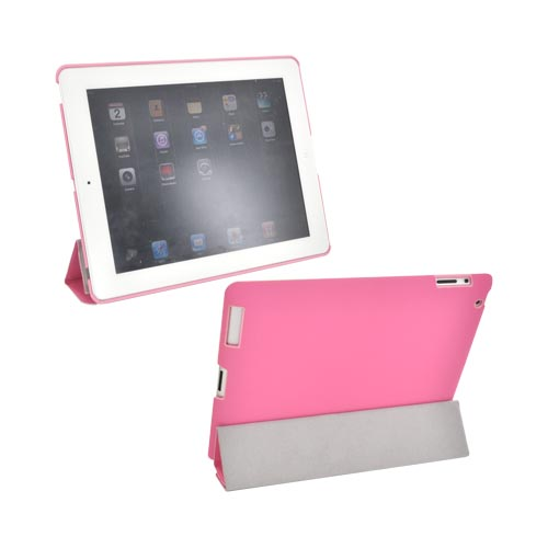 Original Hornettek Apple iPad 2 Flipit Smart Cover Case/ Stand, AD3-001-PI - Pink