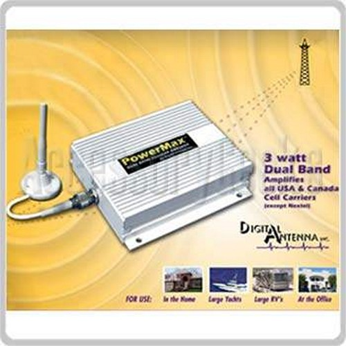 PowerMax Digital Antenna 4KSBR-50U 60 dB Wireless Dual Band Repeater