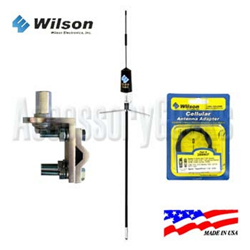 Wilson Electronic Trucker Antenna 301101 Package for Motorola