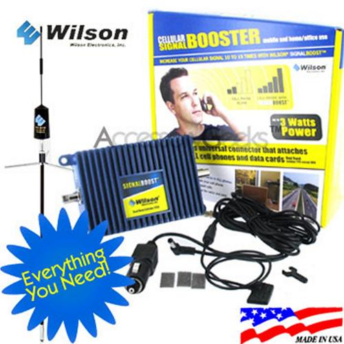 weBoost Electronics Amp and Trucker Mount Antenna Package, 811210 + 301101