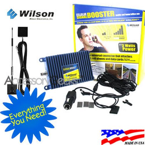 weBoost Electronics Amp and Glass Mount Antenna Package, 811210 + 301102