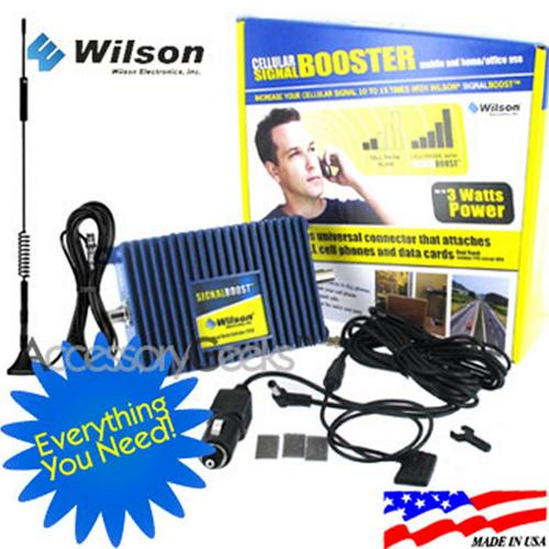 Wilson Electronics Amp and Magnetic Mount Antenna Package, 811210 + 301103