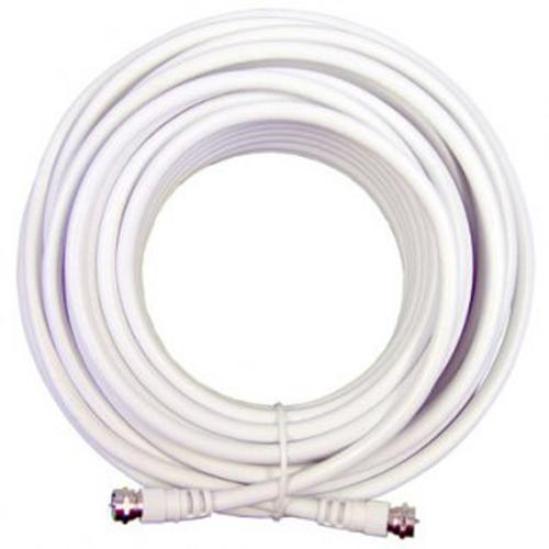 Wilson RG6 Extension Low Loss Coax Cable (50') - White
