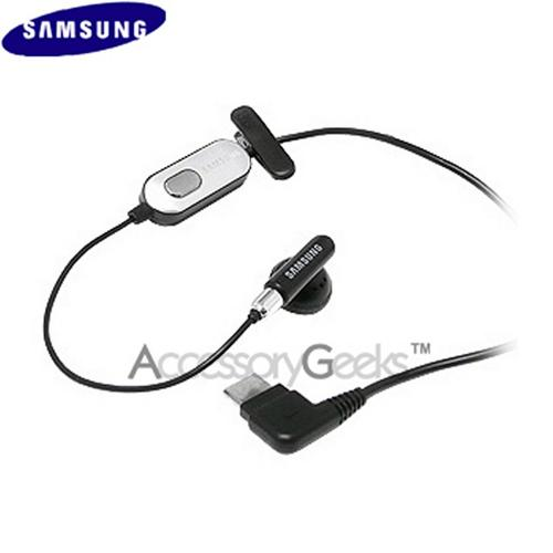 Original Samsung Mono Hands-Free Headset, AEP302SBE - Silver MIC