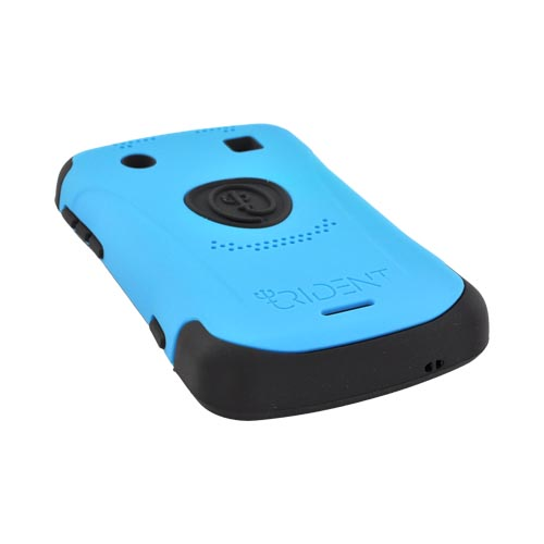 Original Trident Aegis Blackberry Bold 9900 9930 Anti-Skid Hard Cover Over Silicone Case, AG-BB-9930-BL - Blue/ Black