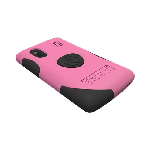 Original Trident HTC EVO Design 4G Aegis Hard Case on Silicone w/ Screen Protector, AG-HERO-PK - Pink/ Black