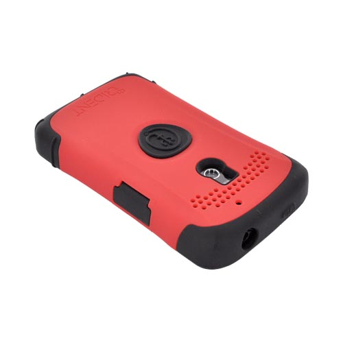 Original Trident Aegis LG Revolution, LG Esteem Hard Cover Over Silicone Case w/ Screen Protector, AG-LG-REV-RD - Red/ Black