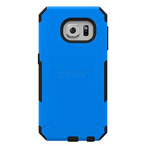 Samsung Galaxy S6 Edge Plus, Trident [Blue] Aegis Series Durable Protective Dual Layer Hybrid Case w/ Free Screen Protector