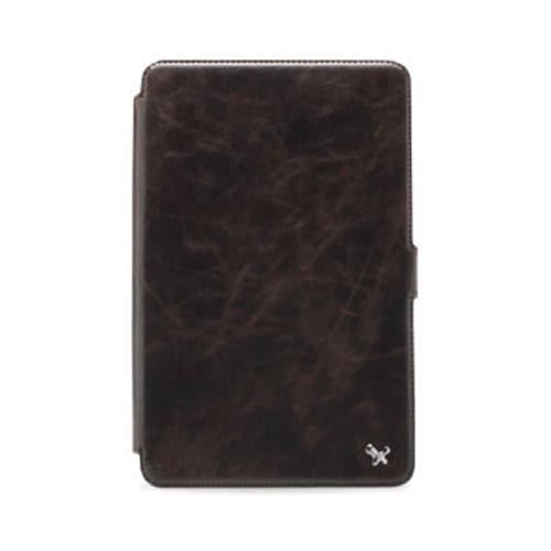 Original Zenus Amazon Kindle Fire Masstige Series Leather Stand Case, AMKIF-MLSST-BC - Brown Chocolate w/ Black Interior