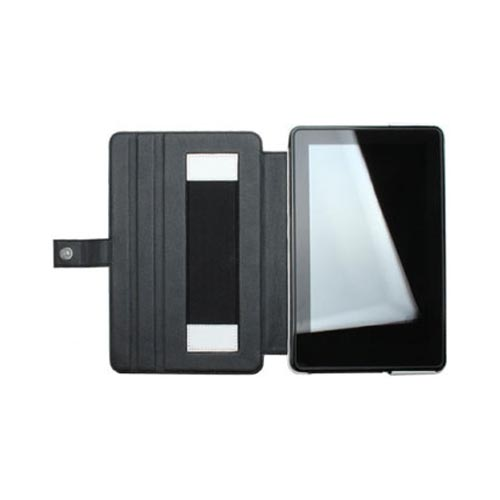 Original Zenus Amazon Kindle Fire Masstige Series Leather Stand Case, AMKIF-MLSST-WH - White w/ Black Interior