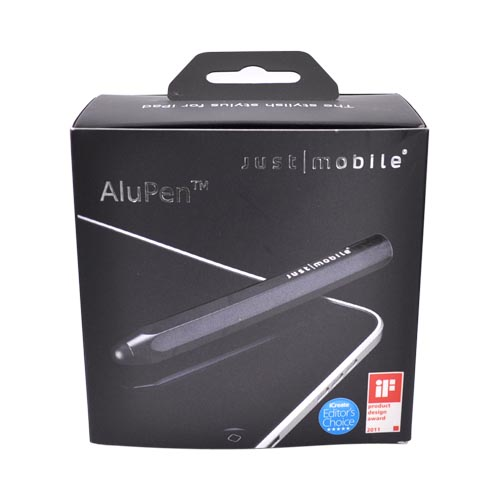 Original Just Mobile Stylus AluPen, AP-818BK - Black