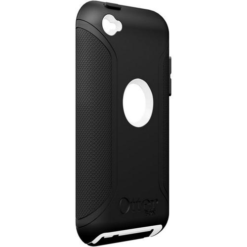 Original Otterbox Defender Series Apple iPod Touch 4 Hard Case, APL2-T4GXX-A2-E - Black/White