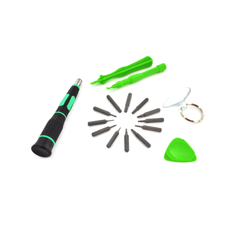 Original Pro's Kit 16 in 1 Apple Tool Kit - Black/ Green