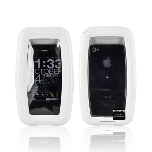 Universal Waterproof Aqua Case for Smartphones iPhone 3G/3Gs/4 & Blackberry - White