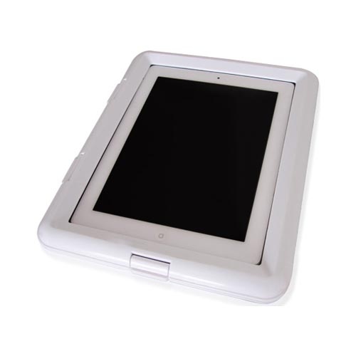 Thumbs Up! Apple iPad (All Gen) Waterproof Aqua Case - White
