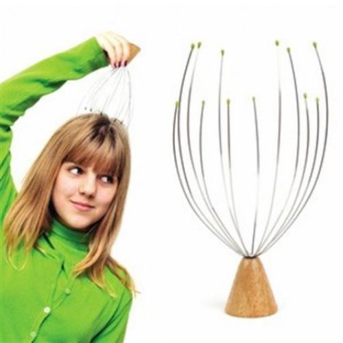 Kikkerland Universal Standing Head Massager - Relieve Stress!