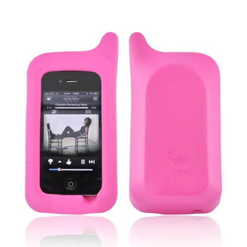 Original ArkHippo 1 AT&T/ Verizon Apple iPhone 4/iPhone 3G 3GS Maximum Protection & Freestanding Cover - Hot Pink