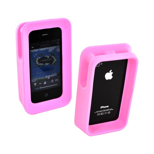 Original ArkHippo 2 AT&T/ Verizon Apple iPhone 4/iPhone 4S Maximum Protection & Freestanding Cover - Baby Pink