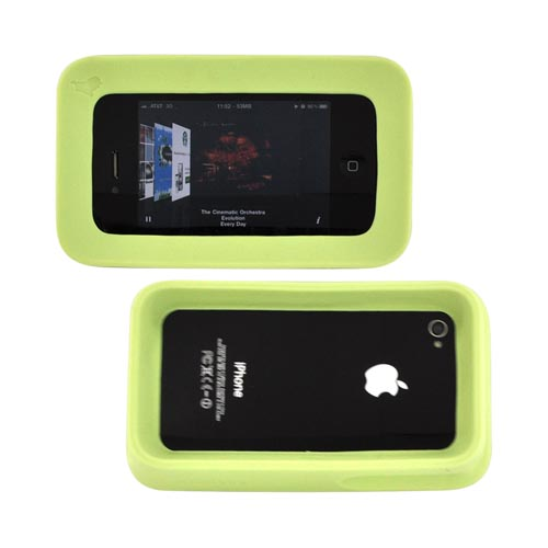 Original ArkHippo 2 AT&T/ Verizon Apple iPhone 4/iPhone 4S Maximum Protection & Freestanding Cover - Mint Green