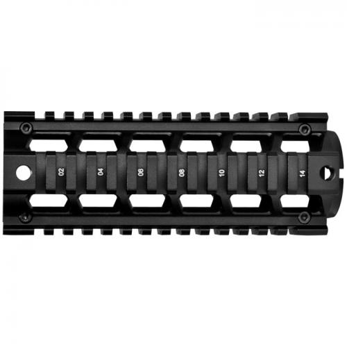 "Barska AR Quad Rail 6.75"" length [Black] [AW11770]"