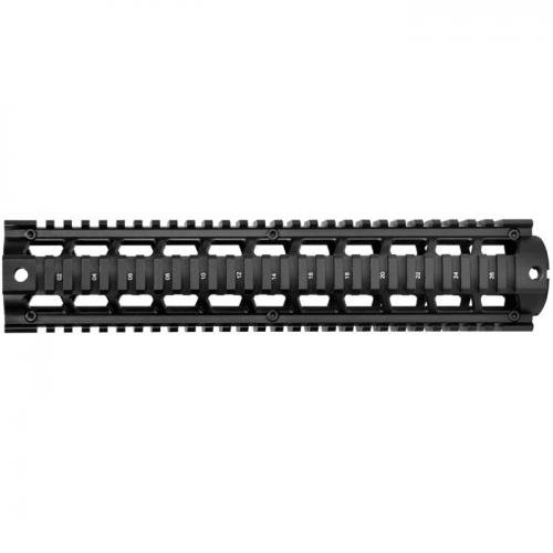 "Barska AR Quad Rail 12"" length [Black] [AW11772]"