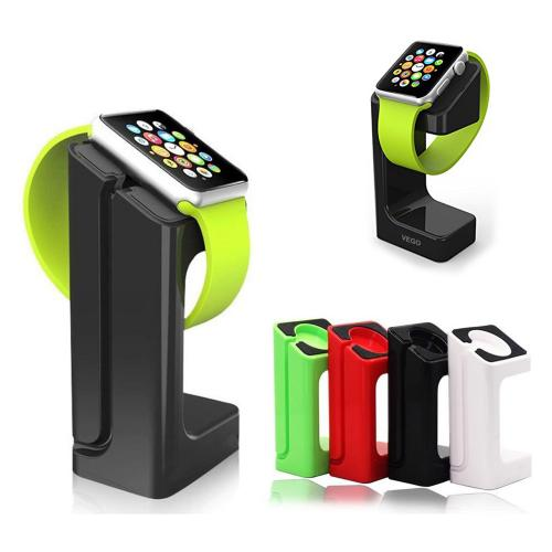 Docking Station Holder for Apple Watch [Black] - Fits Either 38mm or 42mm